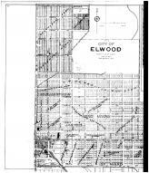 Elwood City, Elwood Outline Map - Left, Madison County 1901