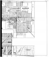 Elwood City, Elwood Outline Map - Right, Madison County 1901