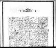 Marrs Township, St. Phillips Sta., Caborn Sta., W. Franklin - Above, Posey County 1900