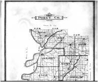 Posey County Map - Above, Posey County 1900