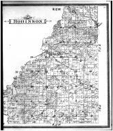 Robinson Township, St. Wendel, Blairsville, Parker Settlement P.O., Posey County 1900