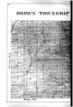 Brown Township, Olean, Friendship, Crossplains - Left, Ripley County 1900
