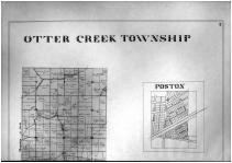 Otter Creek Township, Poston, Holton - Above, Ripley County 1900