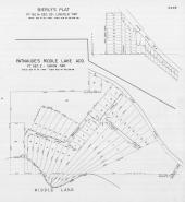 Page 349E - Lincoln and Union Townships - Sec 2, 25, Bierly's Plat, Patnaude's Riddle Lake, St. Joseph 1945c