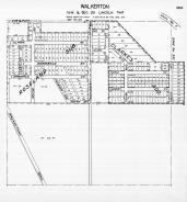 Page 381A - Lincoln Township - Sec 25, Walkerton, Roselalnd Sub., St. Joseph 1945c