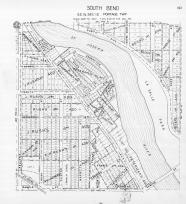 Page 103 - South Bend - Sec 12, Edgewater Place, Beck's 1st Add., J. Rush's Add., St. Joseph 1945c