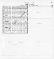 Page 291 - Penn Township - Sec 17, Lincoln Highway Homesites, St. Joseph 1945c