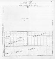 Page 293 - Clay Township - Sec 12, Dreamwold Heights, St. Joseph 1945c