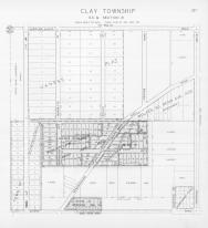 Page 337 - Clay Township - Sec 31, Vaness Plat, Schroederville, St. Joseph 1945c