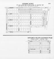Page 349C - Greene Township - Sec 1, 26, 27, Colburn Acres, Whitcomb and Keller's Southmoor, St. Joseph 1945c