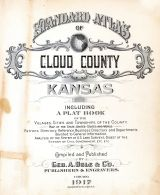 Title Page, Cloud County 1917