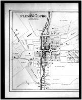 Flemingsburg City, Sherburne - Left, Bath and Fleming Counties 1884
