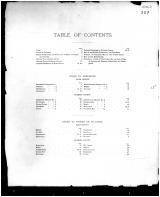 Table of Contents, Bath and Fleming Counties 1884