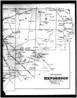 Henderson Precinct No. 5 South, Bluff City, Henderson City, Geneva, Bloomington Right, Henderson and Union Counties 1880