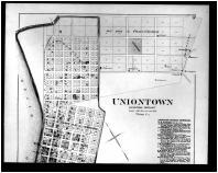Uniontown, Dekovan, Commercial Point, Bordley Above, Henderson and Union Counties 1880