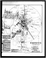 Eminence Precinct, Turners Station, Belleview, Eminence Right, Henry and Shelby Counties 1882