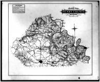 Henry County Outline Map, Henry and Shelby Counties 1882