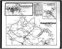 Pleasureville Precinct, Pleasureville, Pleasureville Depot, Belleview, Sweet Home, Henry and Shelby Counties 1882