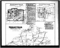 Shelbyville Precinct No. 1, Simpsonville, Clay Village, Taylorsville and Johnsonville, Rockbridge Above, Henry and Shelby Counties 1882
