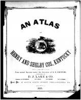 Title Page, Henry and Shelby Counties 1882
