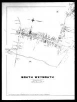 Plate 026 Left - South Weymouth, Norfolk County 1888