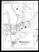 Plate 039 Left - Medfield, West Medway and Millis, Norfolk County 1888