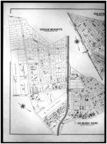 Plate 008 - Cedar Heights, Halethorpe, St. Denis Park, Lowrey P.O. Left, Baltimore County 1898