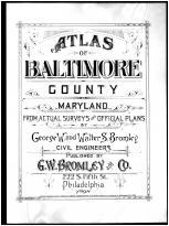 Title Page, Baltimore County 1898