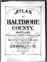 Title Page, Baltimore County 1915