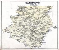 Taneytown Map, Carroll County 1877