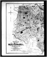 Index Map - Baltimore City - Left, Talbot and Dorchester Counties 1877