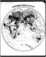 World Map - Eastern Hemisphere, Talbot and Dorchester Counties 1877