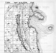 Alpena Township 1, Partridge Point, Devil Lake, Alpena County 1940c
