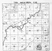 Green Township 1, Beaver Lake, Thunder Bay River, Alpena County 1940c