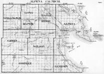 Index Map, Alpena County 1940c
