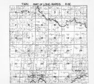 Long Rapids Township 1, Thunder Bay River, Leer, Alpena County 1940c