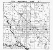 Maple Ridge Township 1, Bolton, Cathro, Thunder Bay River, Alpena County 1940c