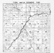 Ossineke Township 2, Butterfield Creek, Wolf Creek, Alpena County 1940c