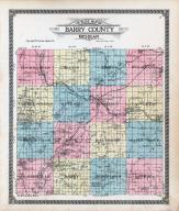Barry County Outline Map, Barry County 1913