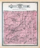 Hope Township, Cloverdale, Wall Lake, Long Lake, Barry County 1913