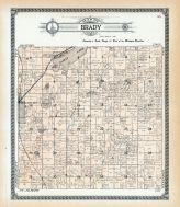Brady Township, Vicksburg, Indian Lake, Thrall, Mud, Kalamazoo County 1910