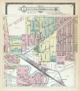Kalamazoo City - Section 14, Kalamazoo County 1910