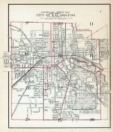 Kalamazoo City Index Map, Kalamazoo County 1910