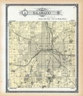 Kalamazoo Township, Oakwood Heights, Buckingham Plat, Nazareth P.O., Alylam Lake, Kalamazoo County 1910