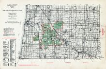 Allegan County, Michigan State Atlas 1955