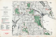 Alpena County, Michigan State Atlas 1955