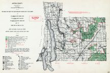 Antrim County, Michigan State Atlas 1955
