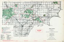 Arenac County, Michigan State Atlas 1955