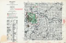 Barry County, Michigan State Atlas 1955