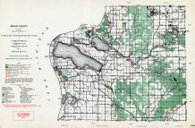 Benzie County, Crystal Lake, Michigan State Atlas 1955